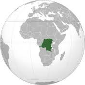 Localisation de la République Démocratique du Congo