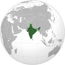 Localisation Inde