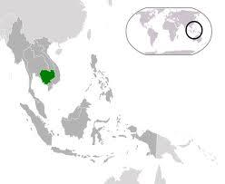 localisation cambodge