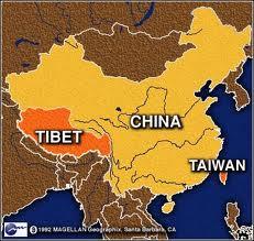 localisation du Tibet