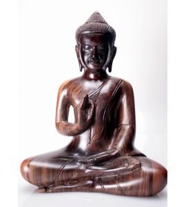 Bouddha khmer teinté Vitarka Mudra